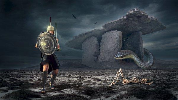 Fantasy, Warrior, Mystical, Man, Fairy Tales, Sword