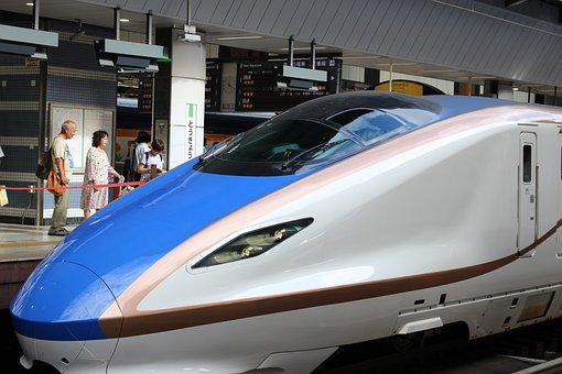 Train, Bullet Train, Tokyo Station, Hokuriku Shinkansen