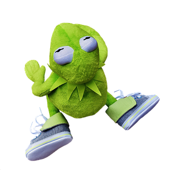 Kermit, Soft Toy, Stuffed Animal, Toys, Fun, Funny