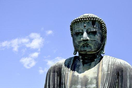 Buddha, Japan, Yokohama, Sky, Meditation, Spiritual