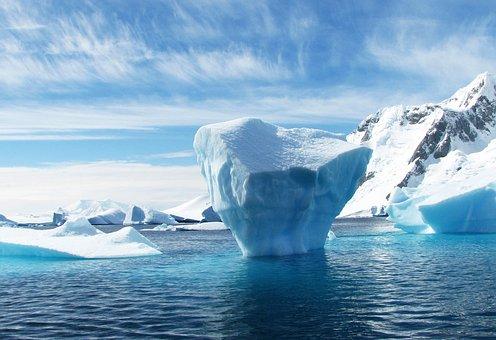 Iceberg, Antarctica, Polar, Blue, Ice, Sea, Scenery