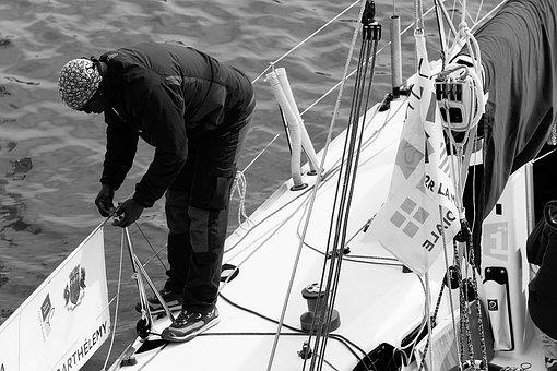 Marin, Sailing, Sport, Ocean, Boat, Sea, Sailing Boat