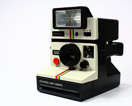 Polaroid, Camera, Polaroid Land, Polatronic, Vintage