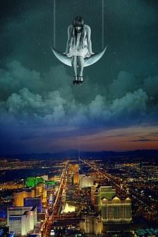 Las Vegas, Night Life, Casino, Nevada, Usa, Evening