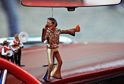 Elvis, Steady-elvis, Cadillac, Cult, Dashboard