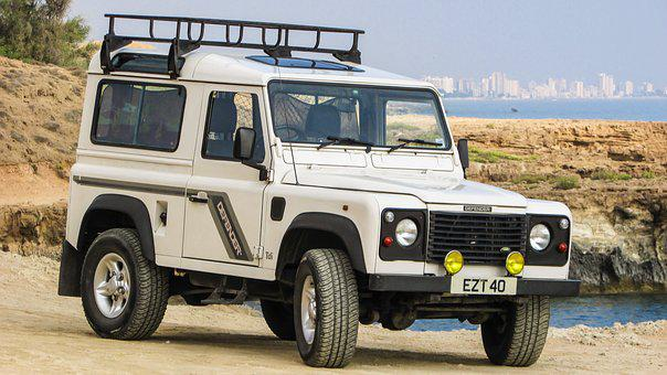 Land Rover, Defender, Car, Off-road, Summer, Vehicle