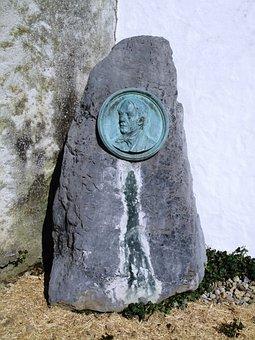 Memorial Stone, Franz Jos, Greith, Musician Composer