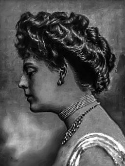 Ethel Barrymore - Female, Portrait, Radio, Stage
