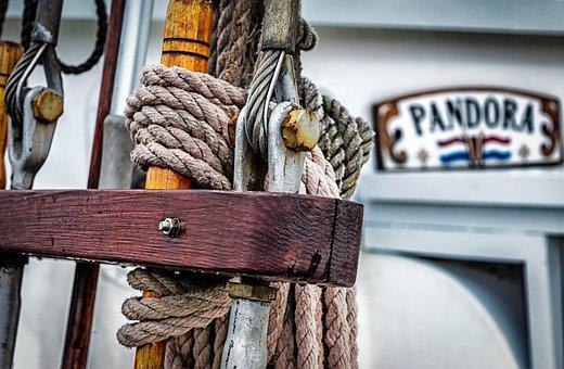 Sailing Boat, Dew, Sailing Vessel, Canvas, Knot
