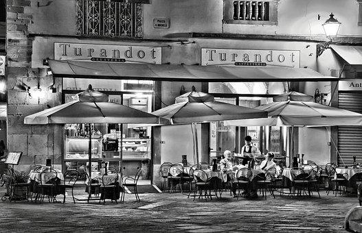 Sw Toscana, Tuscany, Lucca, Abendstimmung