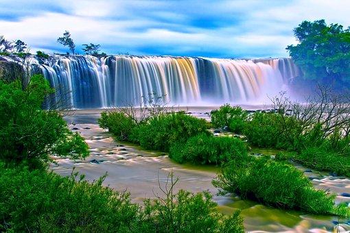 Waterfall, Thác Dray Nur, Buon Me Thuot, Daklak