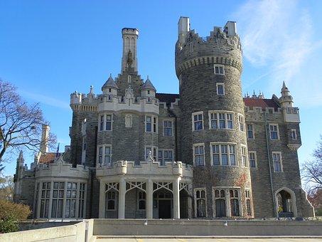 Toronto, Casa Loma, Castle, Architecture, Landmark