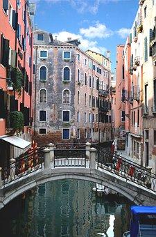 Venice, City, Walk, Via, Water, Holidays, Italy