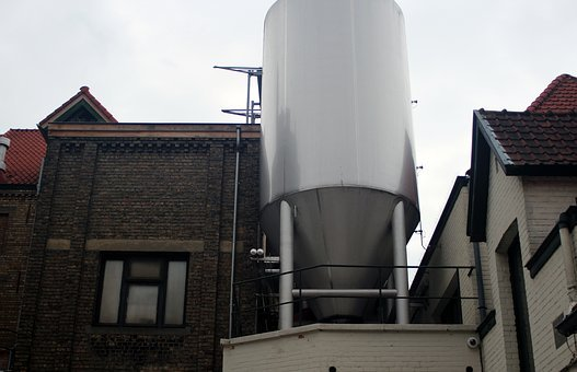 Brewery, Beer, Boiler, Brewing Kettles, Shiny, Metal