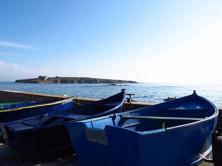 Brittany, Fishing, Boats, Fishermen, Finistère