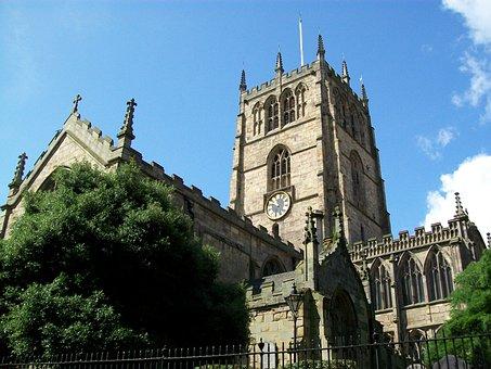 Church, Tower, City, Christian