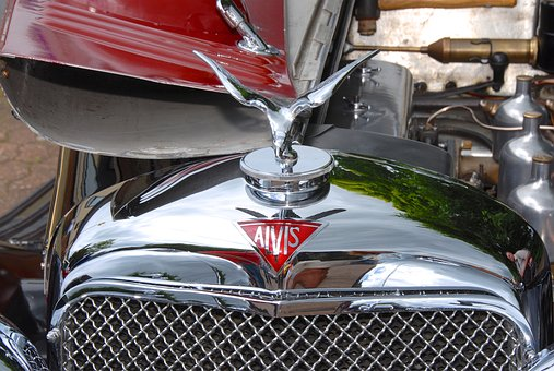 Classic Car, Alvis, Badge