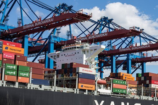 Container, Port, Hamburg, Container Platform