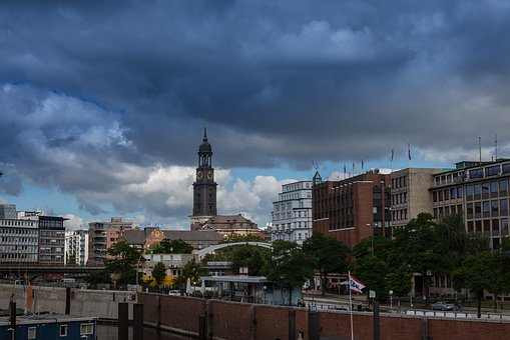 Hamburg, Hamburger-michel, Hanseatic City, St Michaelis