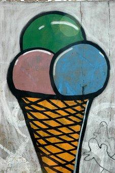 Graffiti, Street Art, Paint, Spray, Urban Wall, Street