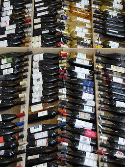 Bottles, Wine, Order, Red Wine, Wine Bottle Rack, Drink