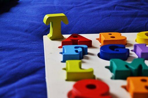 Child, Alphabet, Learn