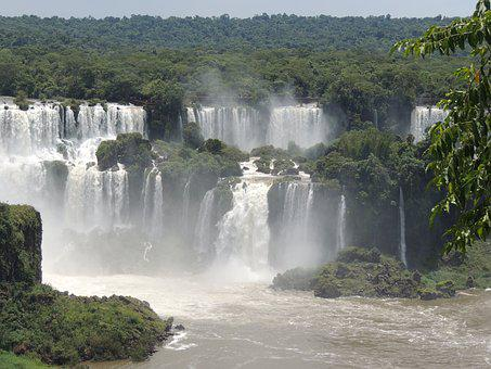 Iguazu, Brazil, Falls, Nature, America, Travel
