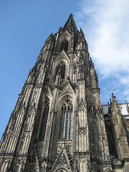 Cologne, Dom, Cologne Cathedral, Landmark, Church, Sky
