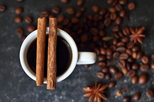 Coffee, Cinnamon, Spices, Drink Coffee, Star Anise