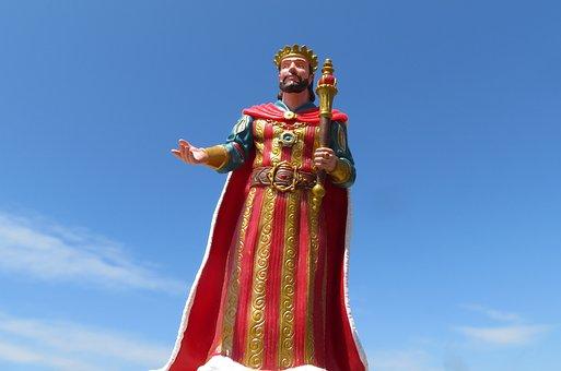 King, Monarch, Ruler, Royalty, Crown, Kingdom, Medieval