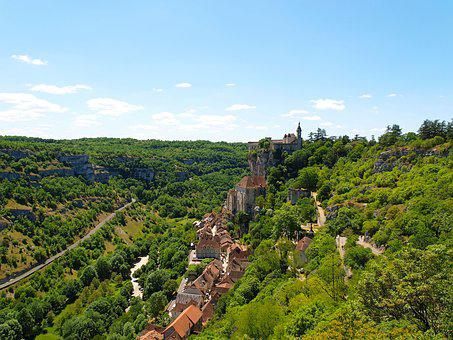 Village, Tourism, Rocamadour, Picturesque, France
