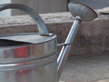 Watering Can, Garden, Water, Casting, Pot, Gardening