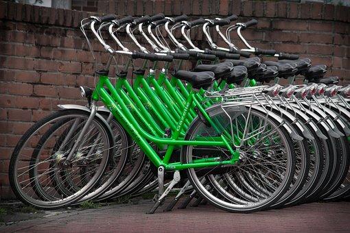 Bike, Niederrhein, Holland, Kleve, Holiday, Green