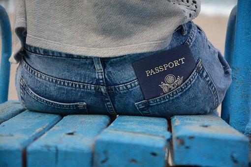 Pass, Passport, Id, Document, Pants, Pocket