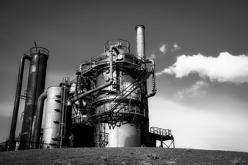 Gas Works Park, Industry, Industrial, Structure