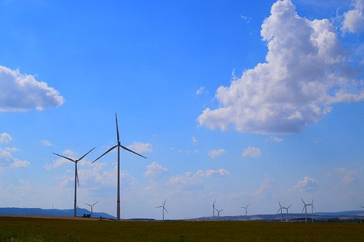 Landscape, Pinwheel, Wind Power, Energy, Windräder