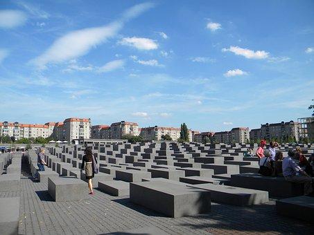 Memorial, Holocaust, Berlin, Germany