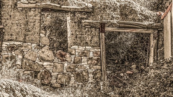 Old House, Ruin, Decay, Destroyed, Abandoned, Broken