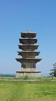 Top, Ruins, Baekje