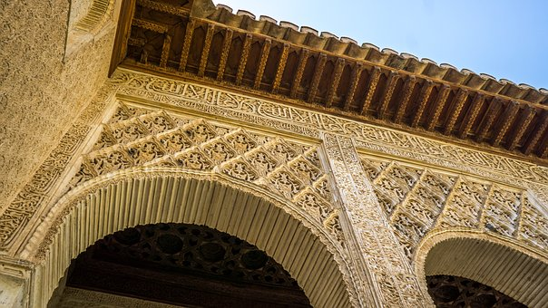 Alhambra, Architecture, Spain, Moorish, Andalusia