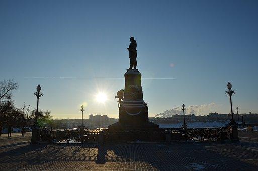 Stalingrad, Sunset, Street