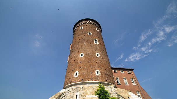 Tower, Castle, Wawel, Cracow, Poland, Royal, Europe