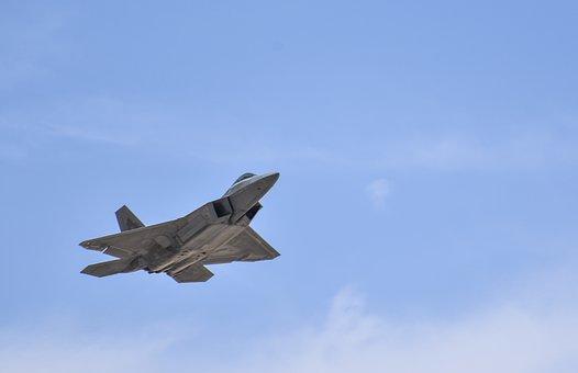 F-22 Raptor, Aircraft, Aviation, Takeoff, Flight
