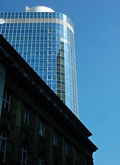 Architecture, Bank, Bank Building, Facade, Window, Ffm
