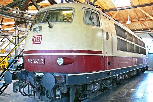 Quick Driving Locomotive, Br103, Br 103