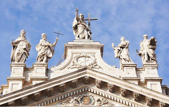 The Lateran Basilica, Rome, Building, Italy