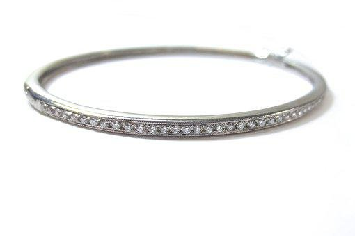 Diamonds, Diamond, Bracelet, Cuff, Hinged, Wrist, Arm