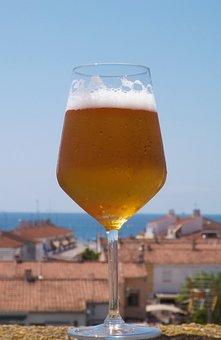 Beer, Summer, Spain, Joy, Alcohol, Drink, Bar, Holiday