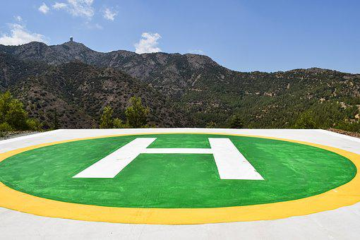 H, Heliport, Helipad, Transportation, Sign, Emergency