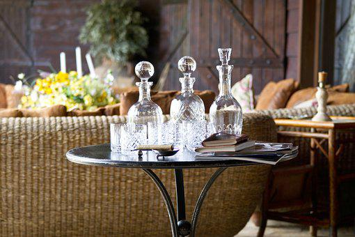 Table, Coffee Table, Furniture, Bottle, Wine, The Drink